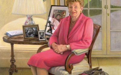 Portrait of Marjorie Jackson-Nelson AC CVO MBE