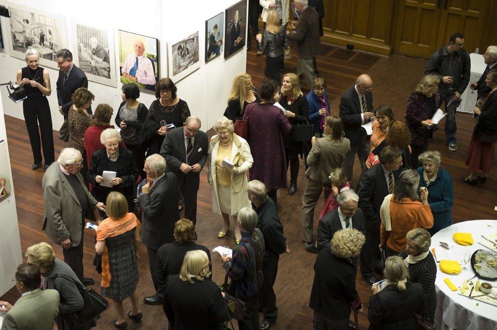 Bonython Hall, Adelaide University, Art Exhibition, Adelaide Artist, Avril Thomas, Australian National Treasure, Adelaide Artist, South Australian Artist, Portrait Artist, Basil Hetzel