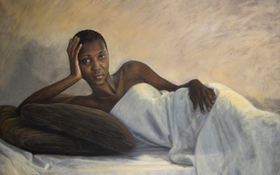 Banyana – Oil painting by Avril Thomas