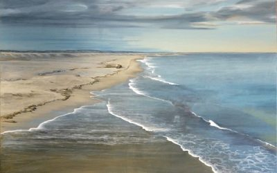 """""""Infinity"""" Oil on canvas by South Australian Artist Avril Thomas"""