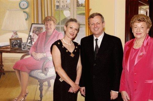 Mike Rann, Marjorie Jackson- Nelson, Avril Thomas, Australian Artist, South Australian Artist, Adelaide Artist, South Australian,