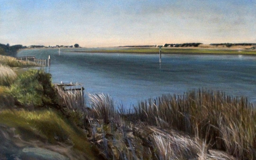 """""""Goolwa"""" Oil on canvas by Avril Thomas"""